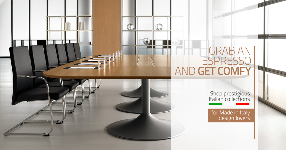 Italian office furniture Italian conference table. Italian Furniture  Luxury Brands  Design Made in Italy  worldwide